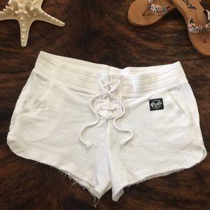 NWOT Lace Up Shorts